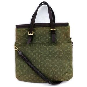 Louis Vuitton  Mini Lin Francoise Fold Tote with